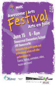 RAA Festival poster
